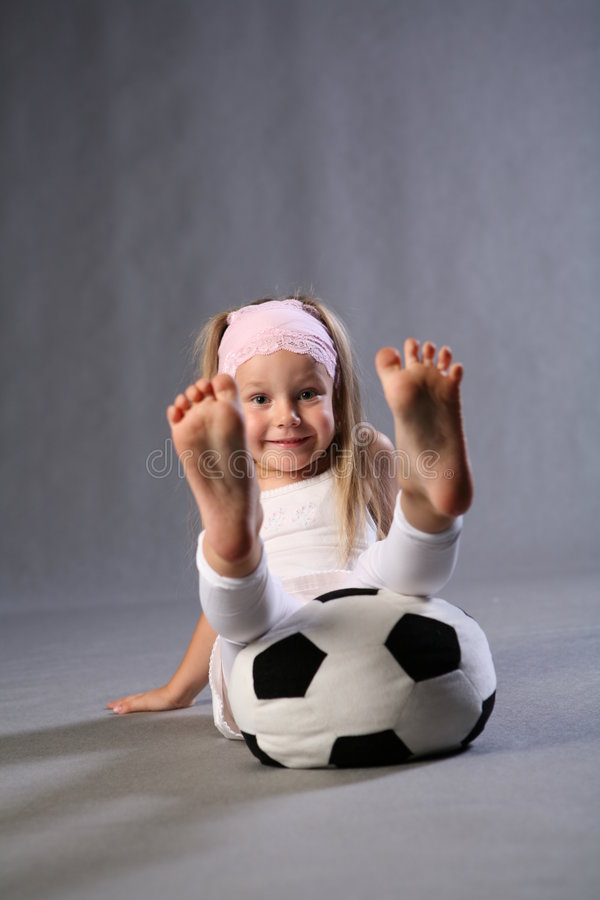 Download Fun With A Soccer Ball stock photo. Image of energetic - 2823524