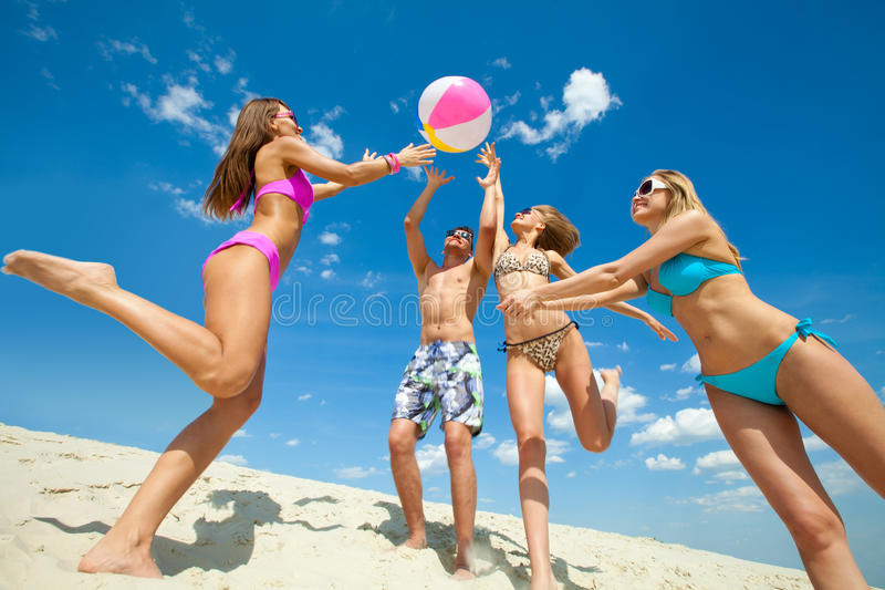 Fun summer time royalty free stock images