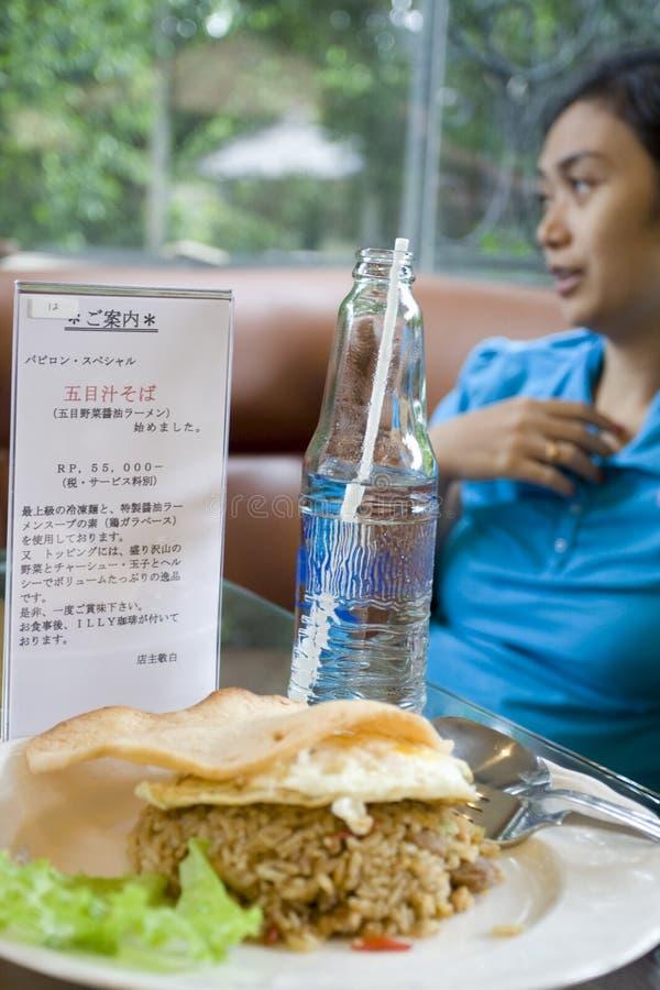 Download Fun Talk At Restaurant Royalty Free Stock Images - Image: 7667009