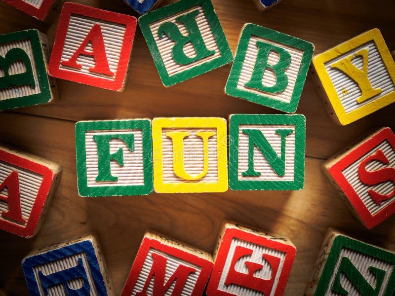 Fun Toy Blocks Royalty Free Stock Photography