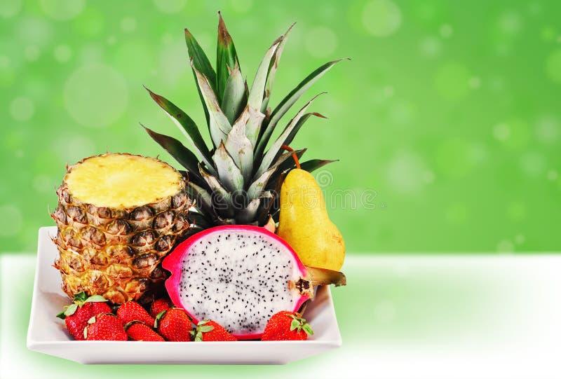 Download Fun tropical fruit mix stock image. Image of dragonfruit - 19660469