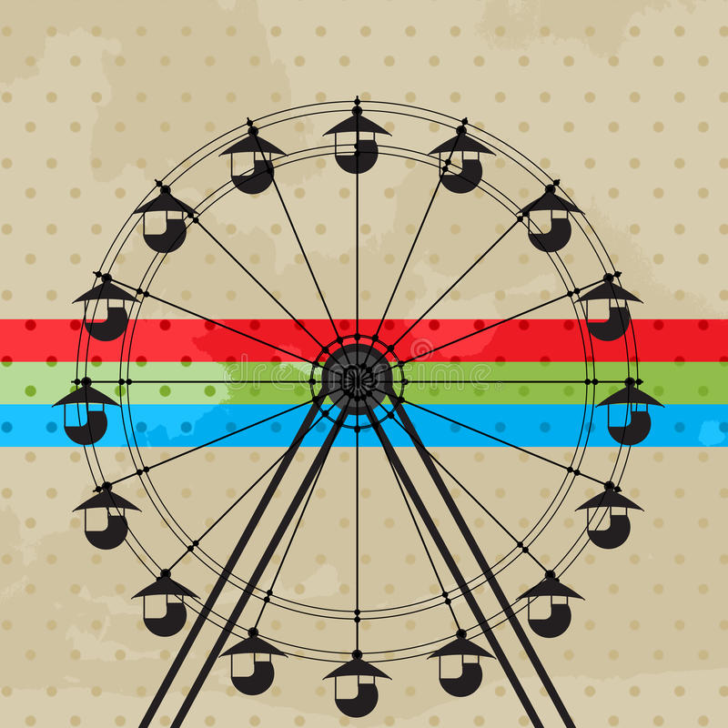 The Fun Wheel Royalty Free Stock Images