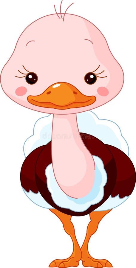 Download Fun zoo. Ostrich stock vector. Image of bird, vector - 23314233