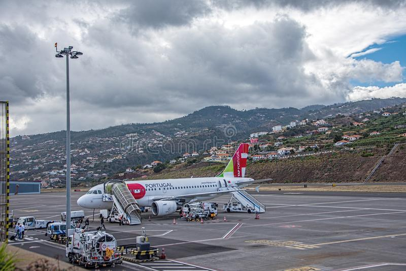 Flughafen Funchal Plan