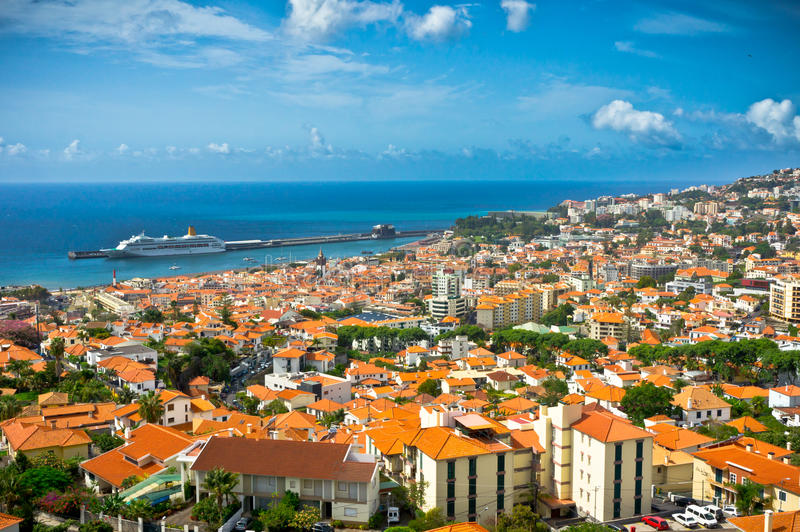 Funchal, ilha de Madeira, Portugal imagens de stock royalty free
