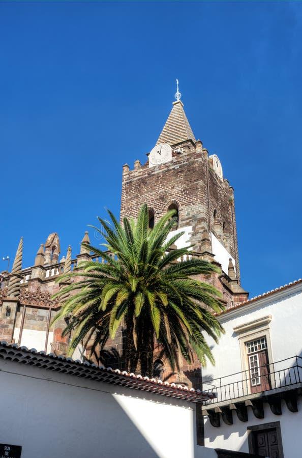 funchal kościelny se Madeira obraz royalty free