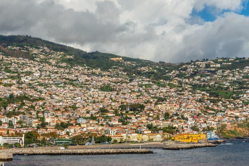 Funchal, madery wyspa, Portugalia zdjęcie royalty free