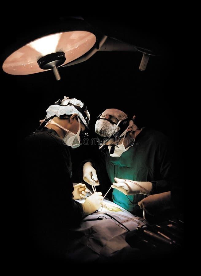 Funcionamento de dois cirurgiões foto de stock royalty free