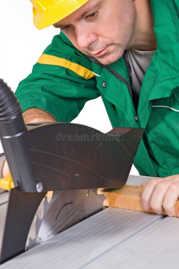 Funcionamento do carpinteiro imagens de stock