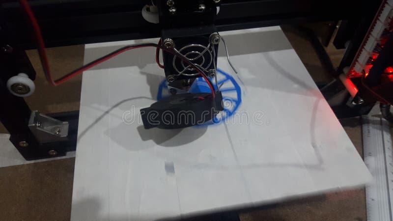 funcionamiento de la impresora 3D imágenes de archivo libres de regalías