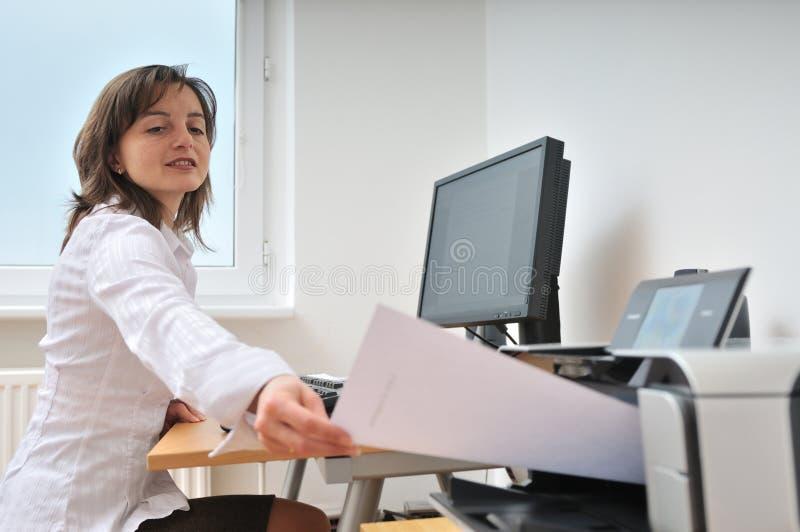 Funcionamiento de la persona del asunto imagenes de archivo