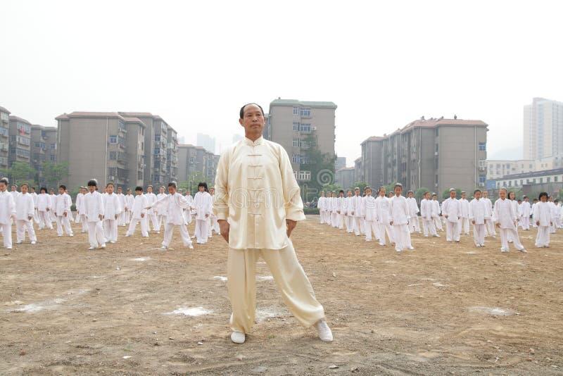Funcionamiento de Tajiquan fotos de archivo