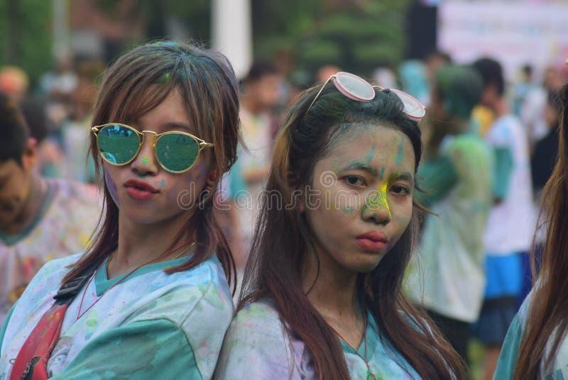 Funcionamiento 2017 del color de Kudus foto de archivo