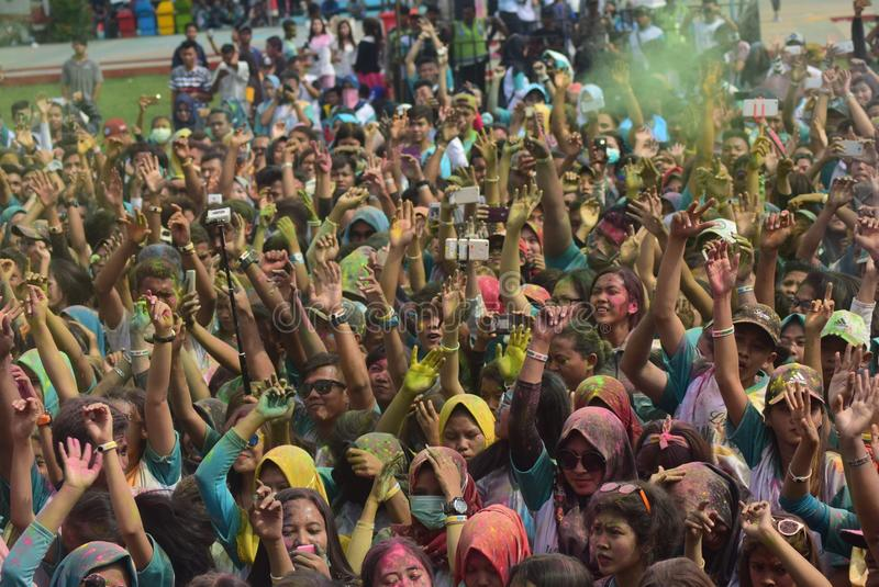 Funcionamiento 2017 del color de Kudus imágenes de archivo libres de regalías