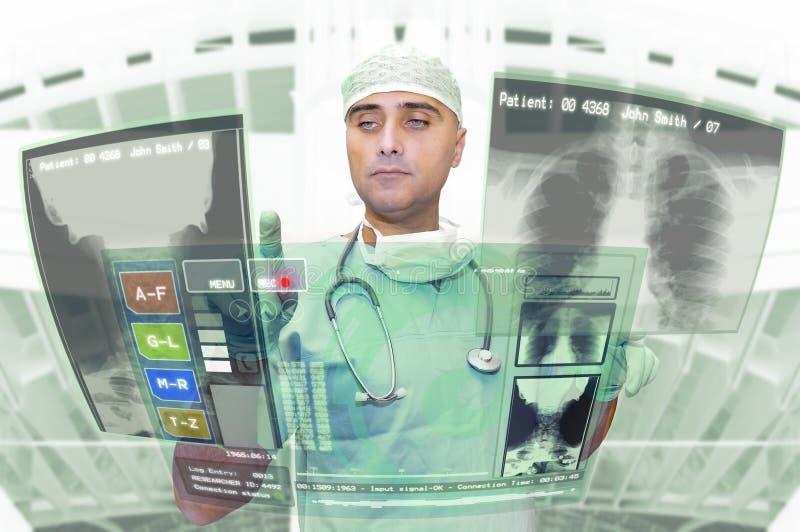 Funcionamiento del doctor imagen de archivo