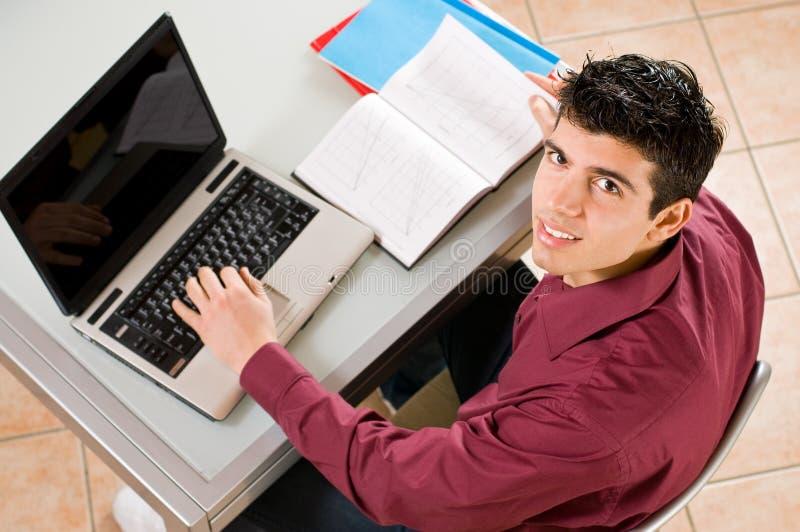 Funcionamiento del estudiante imagen de archivo libre de regalías
