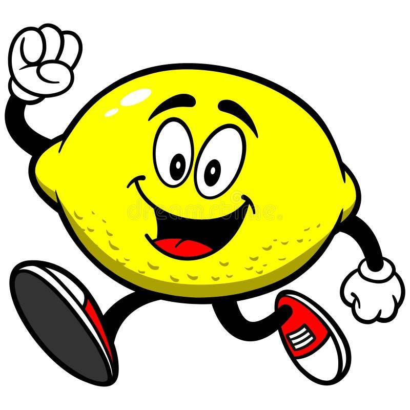 Funcionamiento del limón stock de ilustración