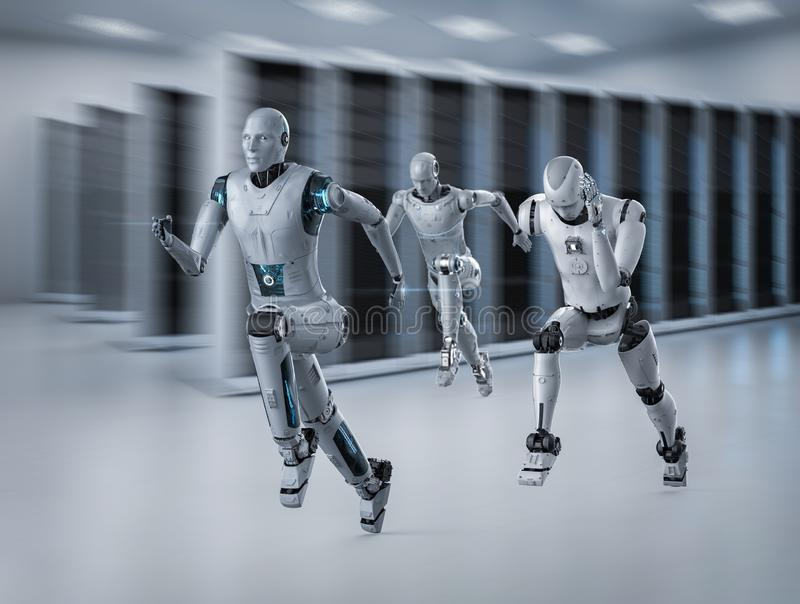 Funcionamiento del robot con velocidad