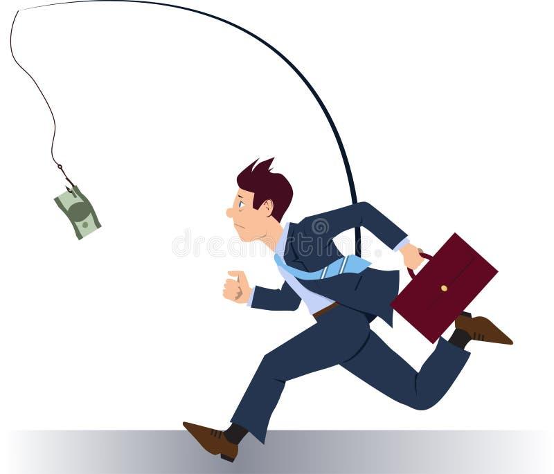Funcionamiento después de dinero libre illustration