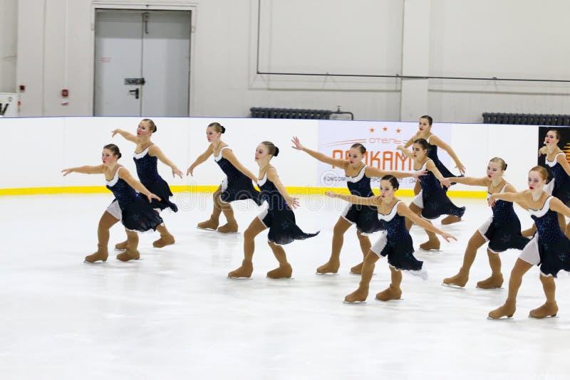Funcionamiento en la taza Open de patinaje fotos de archivo libres de regalías