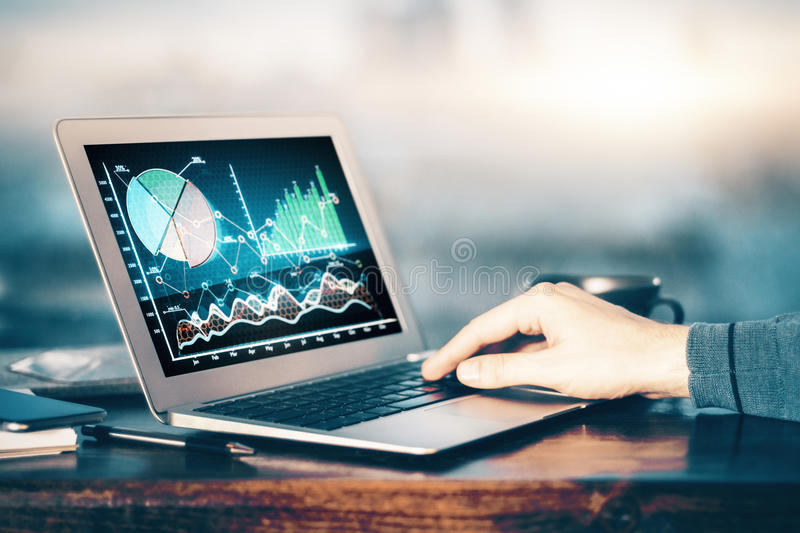Fund management concept royalty free stock image