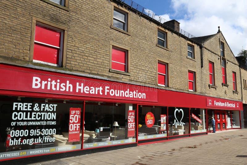 Fundação britânica do coração foto de stock royalty free