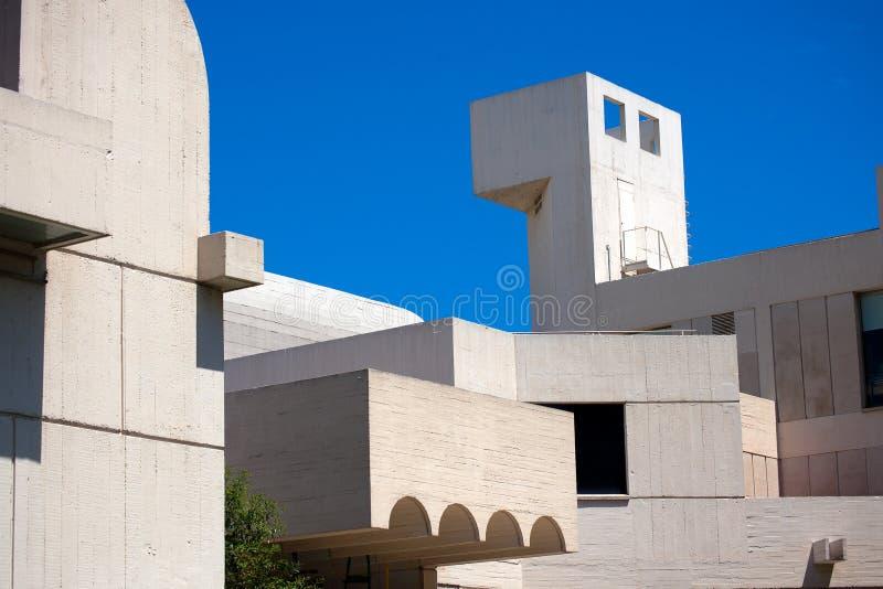 Fundacio Joan Miro - Barcelona Spanje stock fotografie