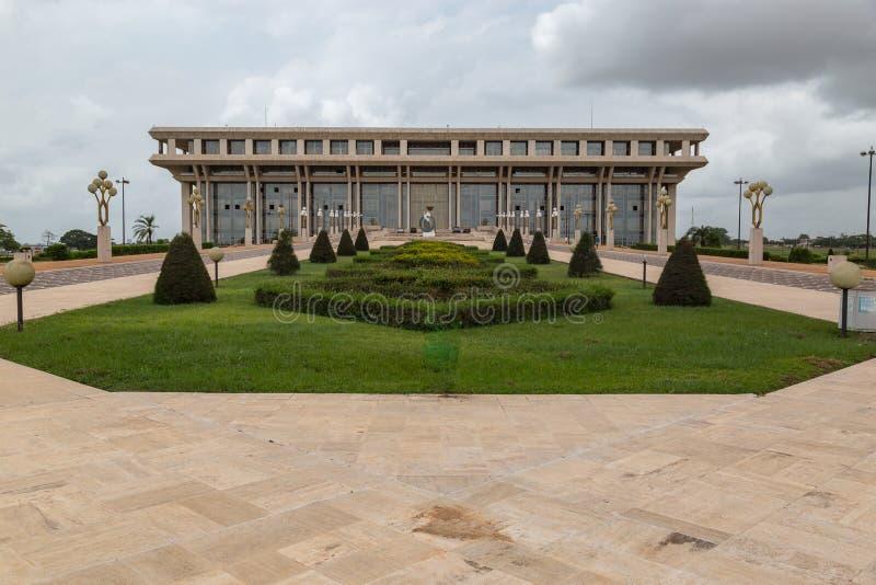 Fundament för fredforskning i Yamoussoukro royaltyfria bilder
