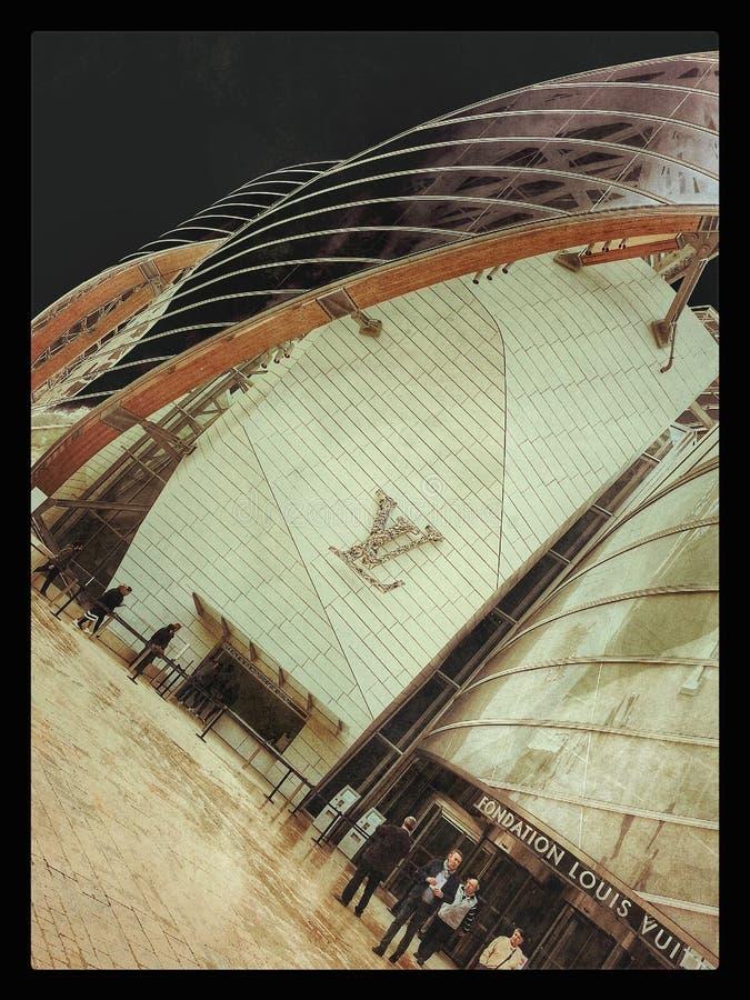 Fundament Louis Vuitton arkivbilder