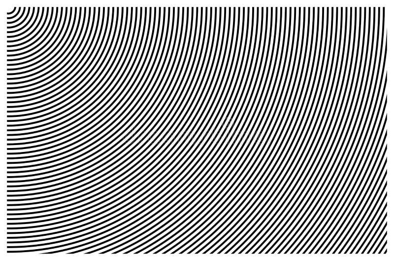 Fundamentele grafische achtergrond abstracte patronen achtergrond zwart-witte vector als achtergrond stock illustratie