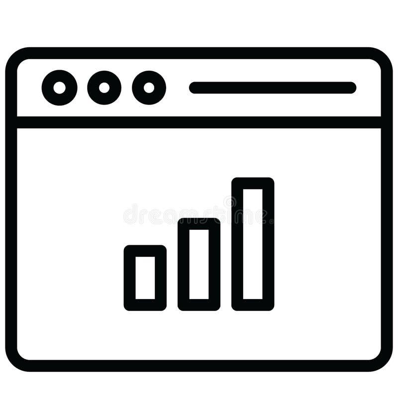 Fundamentele RGB Online met betrekking tot Webbrowservensters en volledig editable grafiekvector stock illustratie