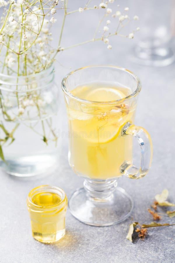 Funderat kryddigt varmt te för vitt vin royaltyfri fotografi