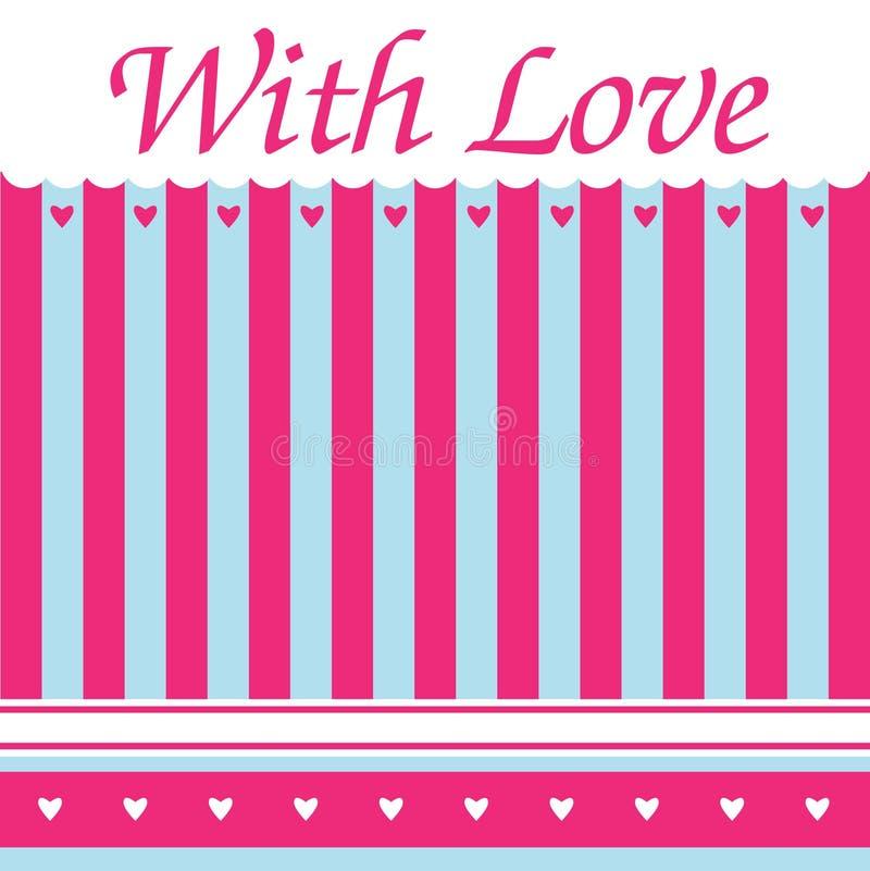 Download Fundo Cor-de-rosa Do Teste Padrão Ilustração do Vetor - Ilustração de fundo, flor: 29844107