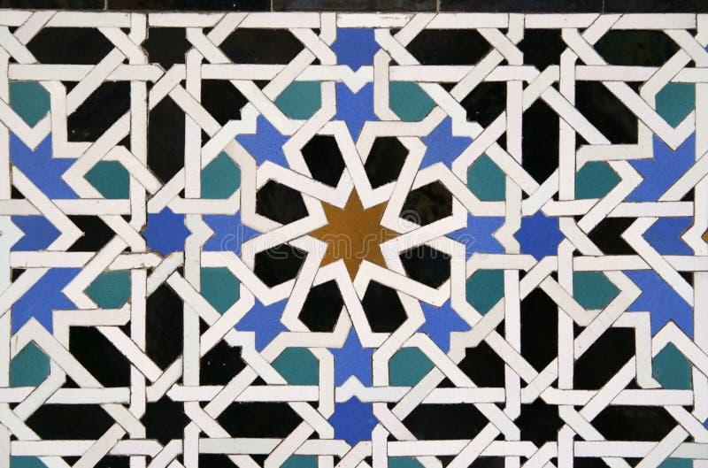 Fundo árabe da telha foto de stock royalty free
