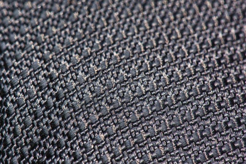Fundo áspero detalhado da textura de matéria têxtil do macro imagens de stock