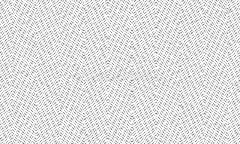 Fundo étnico do teste padrão da listra do detalhe alto super ilustração stock