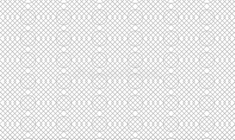 Fundo étnico do teste padrão da listra do detalhe alto super ilustração do vetor