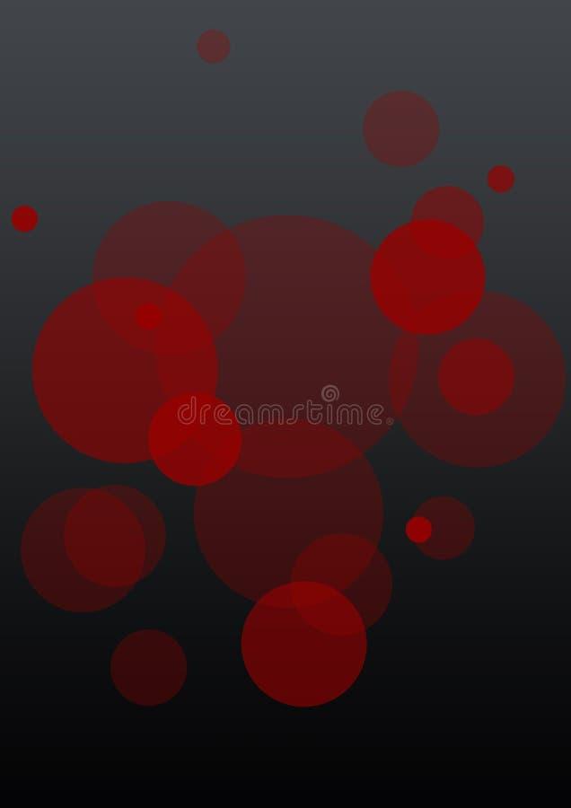 Fundo ótico da cor ilustração stock