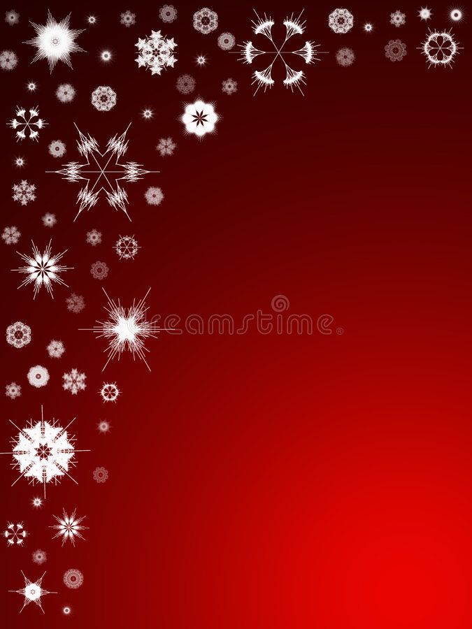 Fundo 105 do floco de neve ilustração stock
