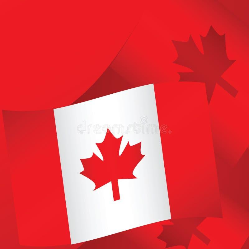 Fundo 2 de Canadá ilustração royalty free
