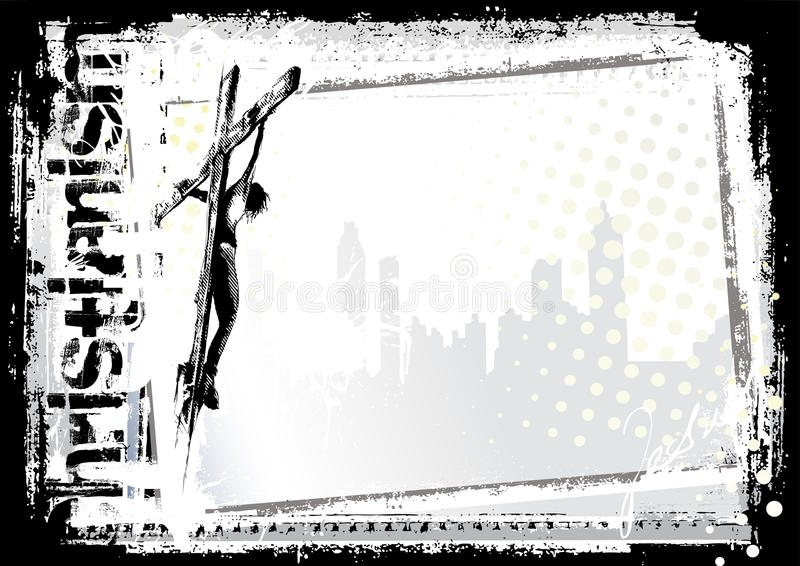 Fundo 2 de Jesus ilustração royalty free