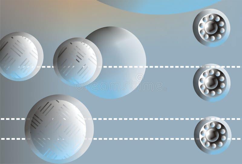 Fundo 3D abstrato ilustração do vetor