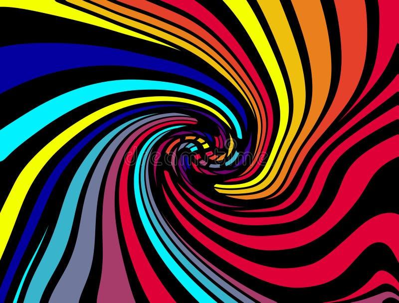 Fundo 40 das cores ilustração stock
