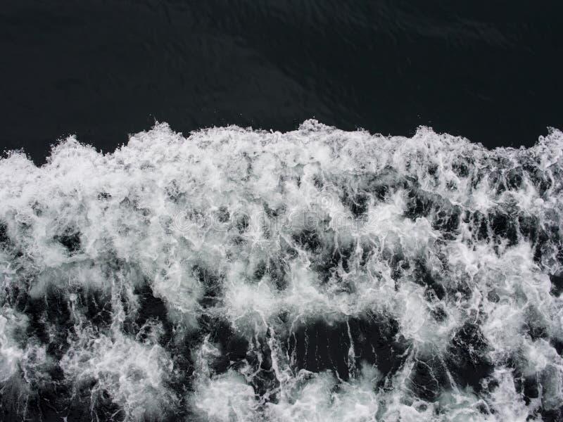 Fundo aéreo da onda fotografia de stock