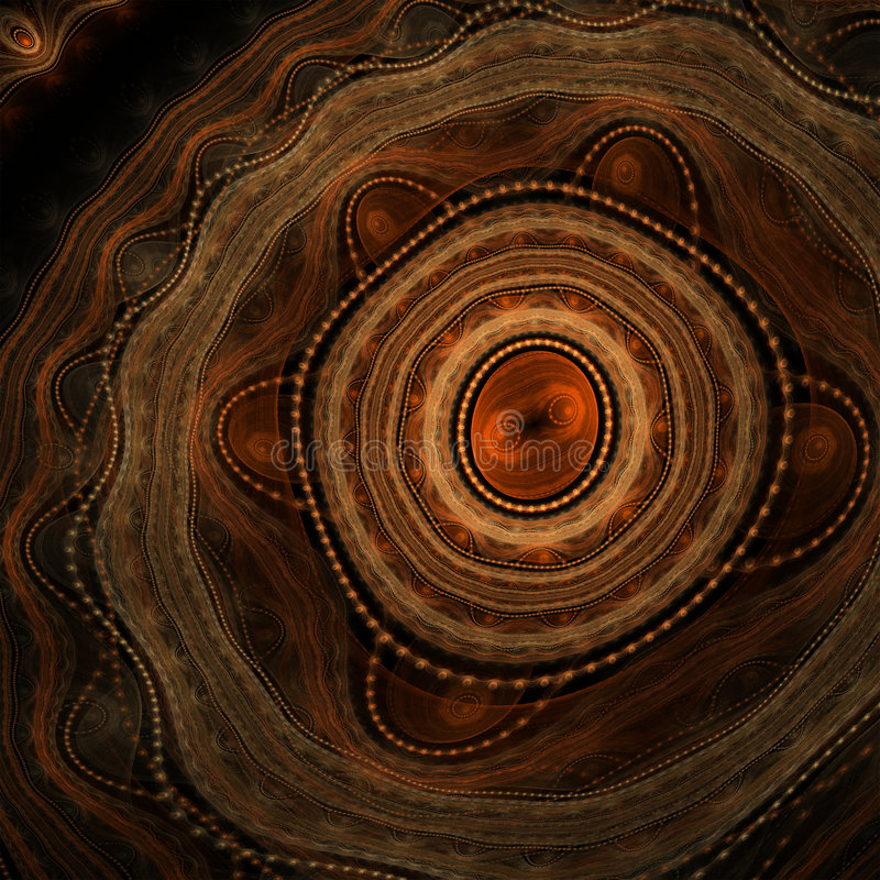 Fundo aborígene abstrato foto de stock royalty free