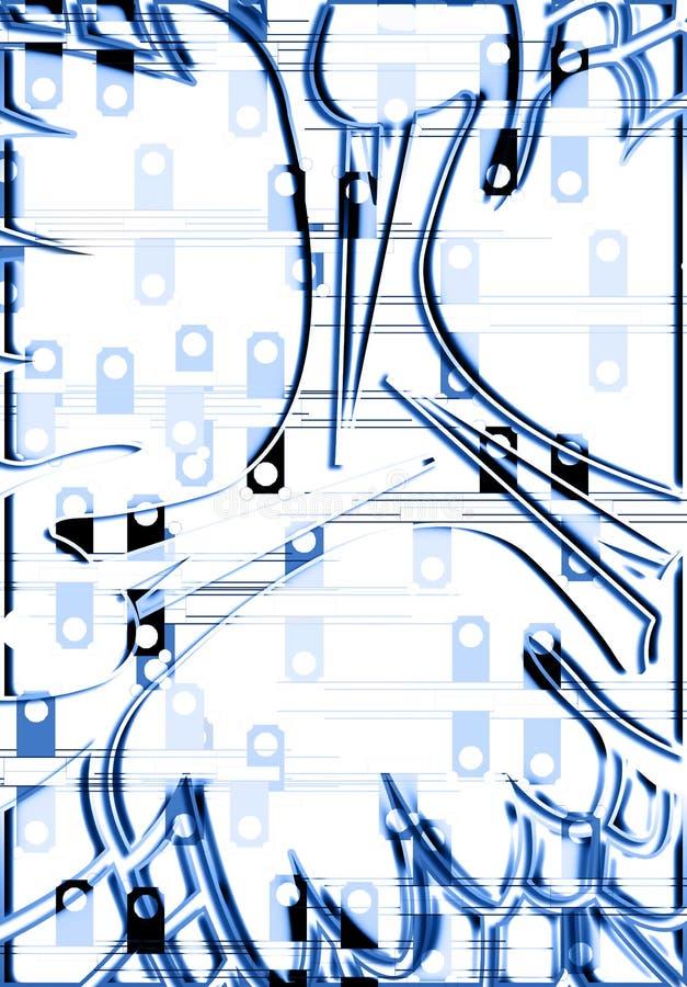Download Fundo abstrato ilustração stock. Ilustração de distorcido - 12807667