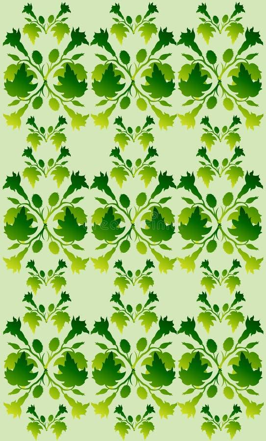 Fundo Abstrato 9 Da Planta Foto de Stock Royalty Free