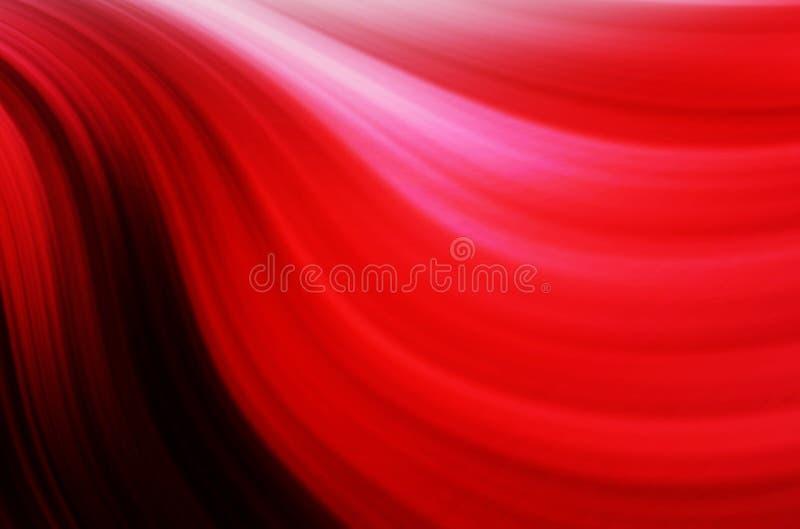 Fundo abstrato alta-tecnologia vermelho ilustração royalty free