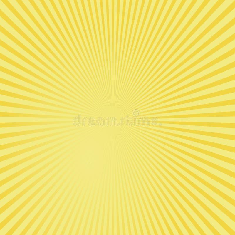 Fundo abstrato amarelo. ilustração stock