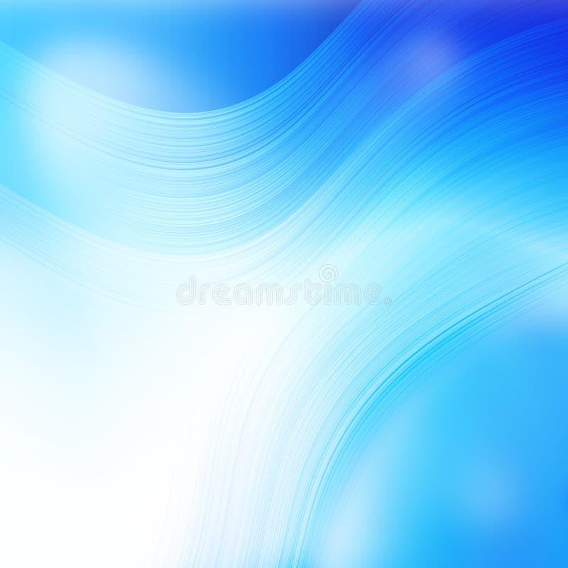 Fundo abstrato azul ilustração do vetor